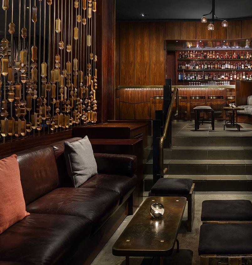 Bar y restaurantes Royalton en el lobby que inclusive habían noches con musical en vivo como para nunca ir a dormir