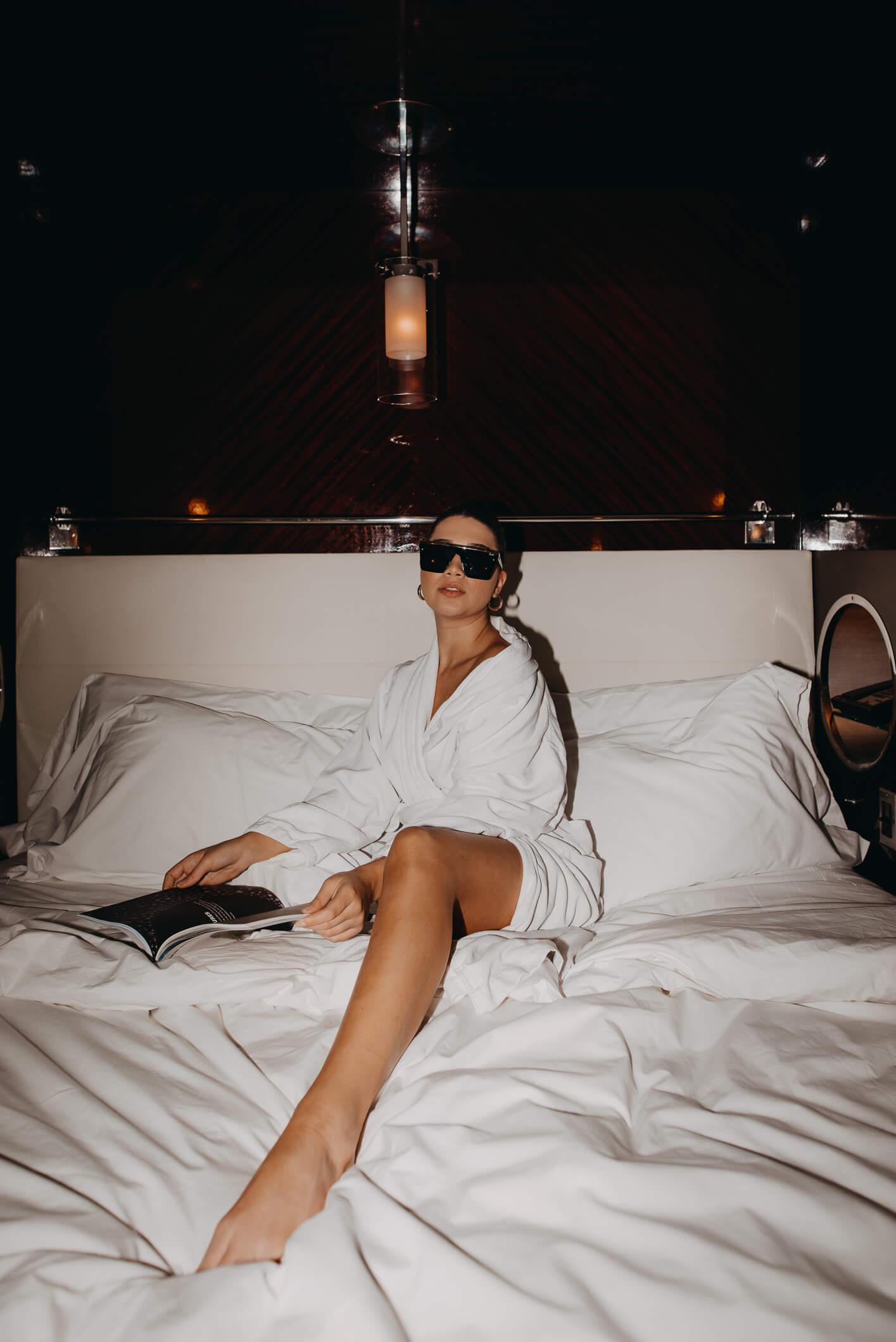 soy fan de las camas de hoteles Royalton, no se eso de tener sabanas limpias siempre es como un placer