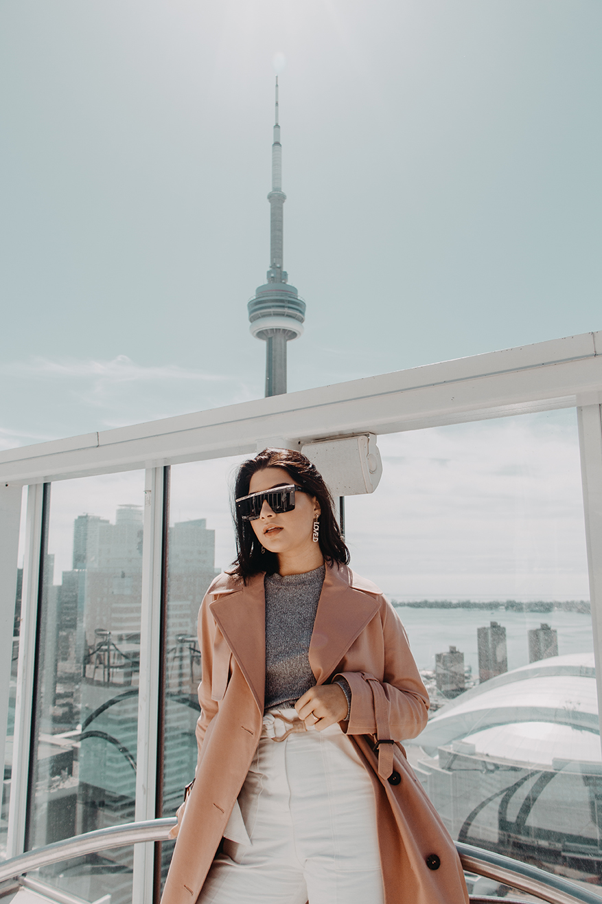 deleitas con una vista para morir!! en el Bisha Hotel Toronto