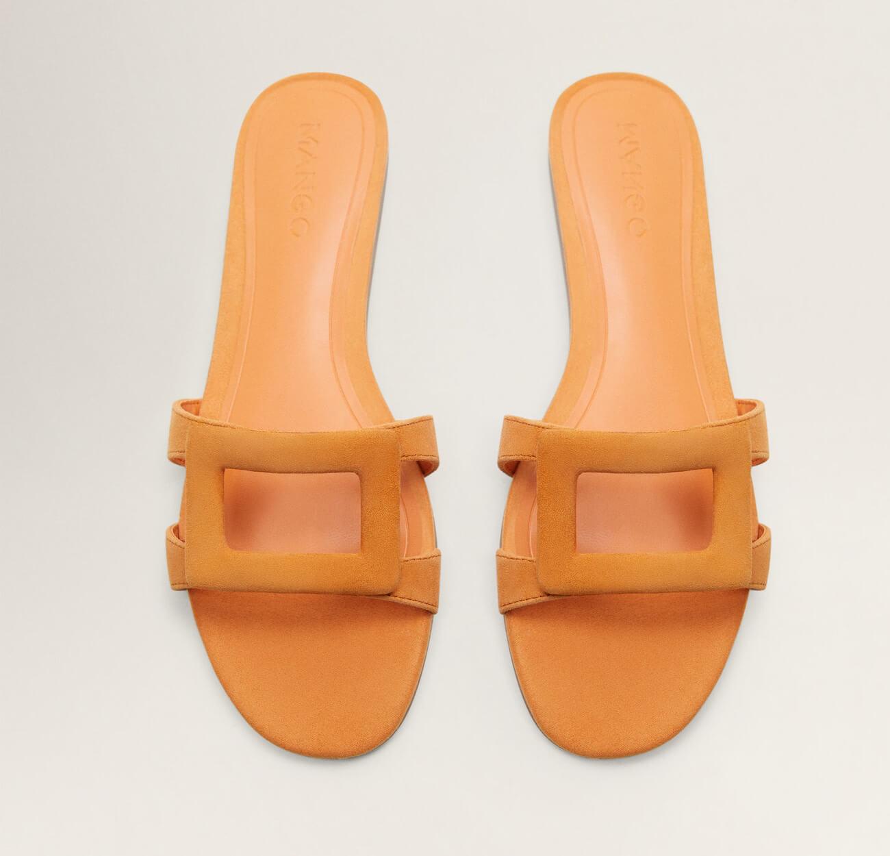 Sandalia de cuero