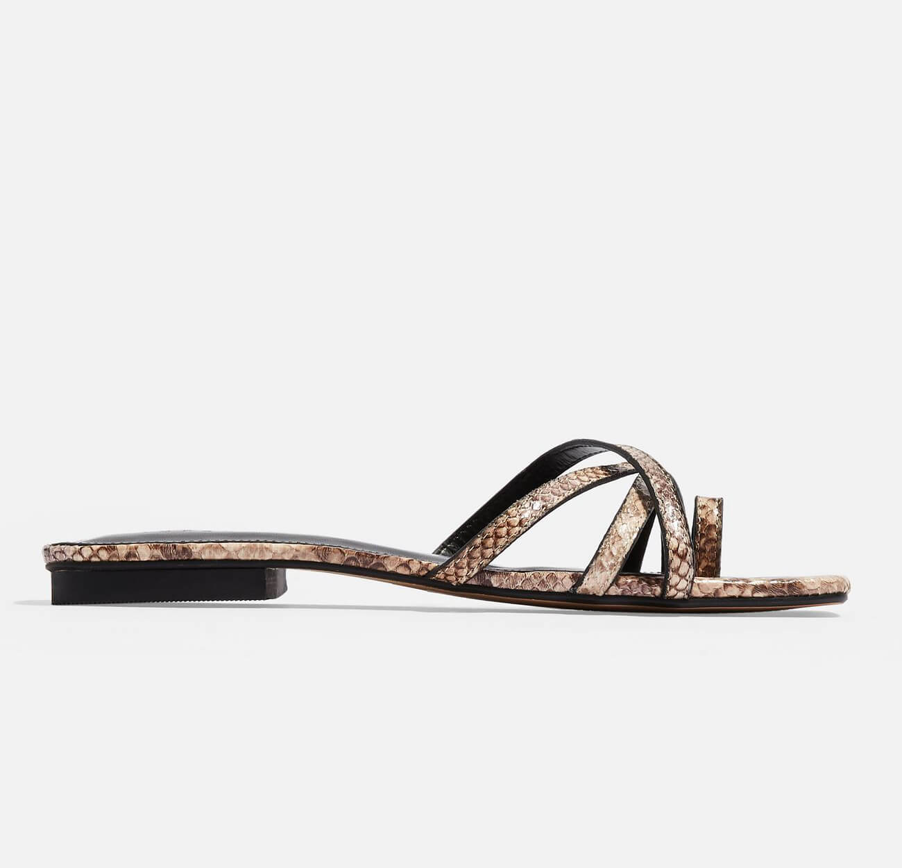 Sandalias planas for this summer