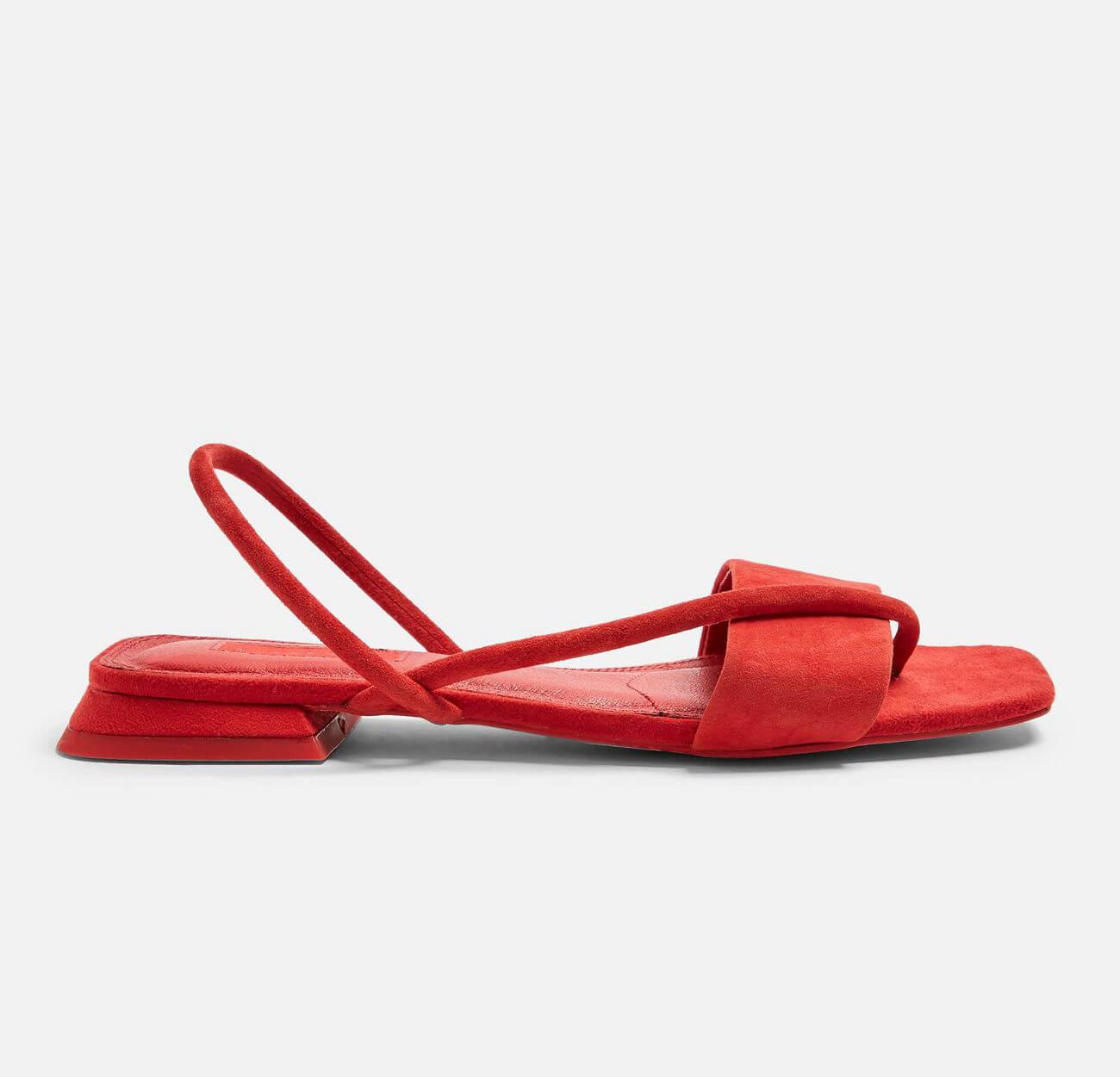 HESTER Red Sandals